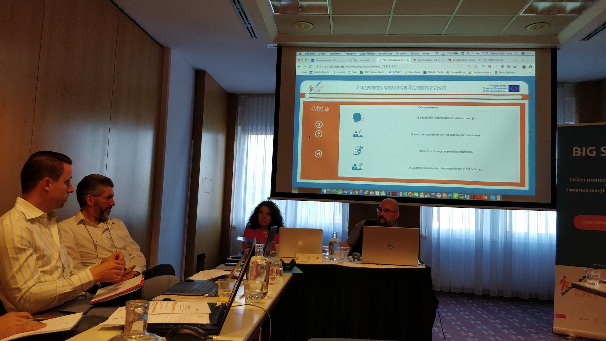 BIG STEP steering committee meeting Prague