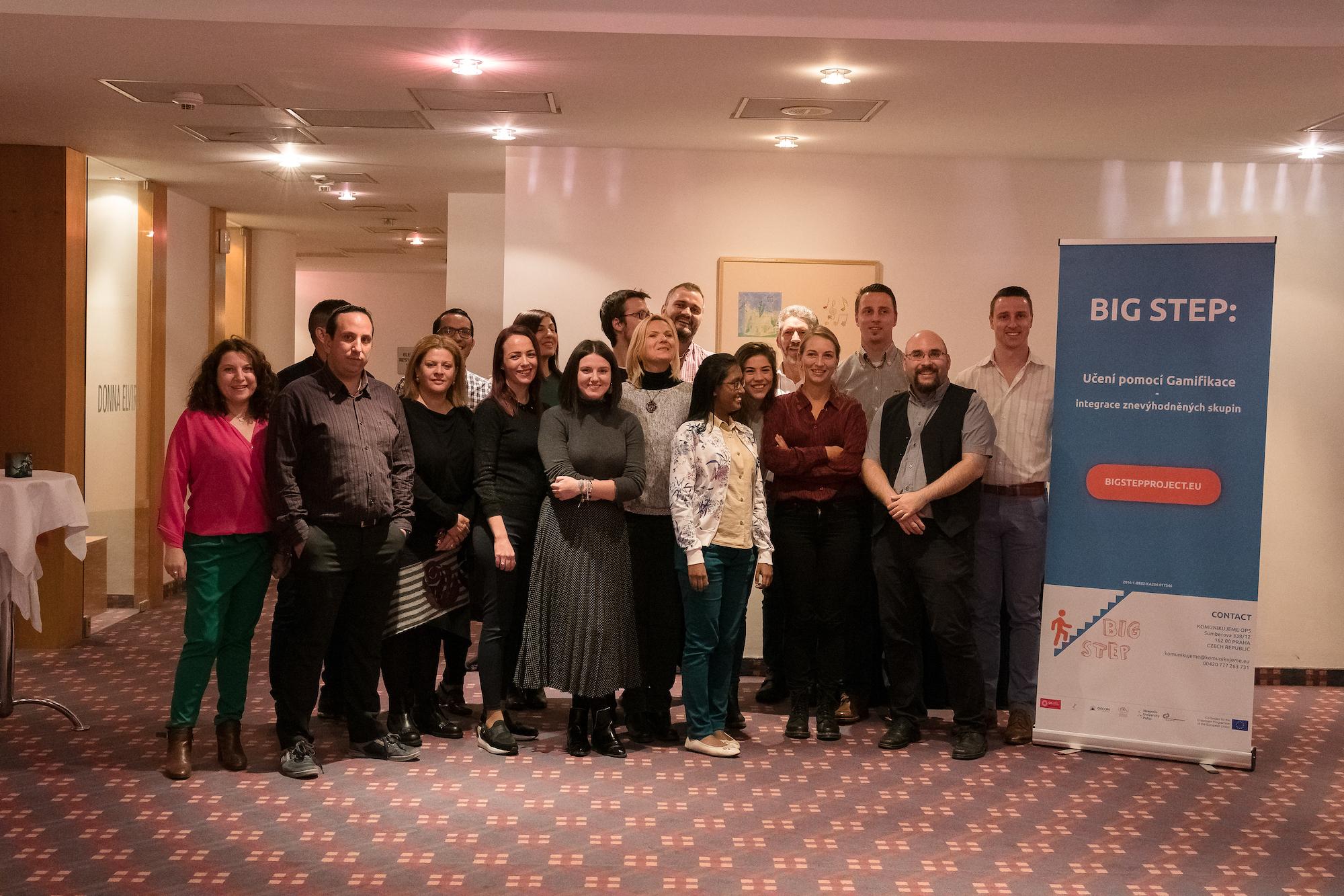 BIG STEP steering committee meeting Prague
